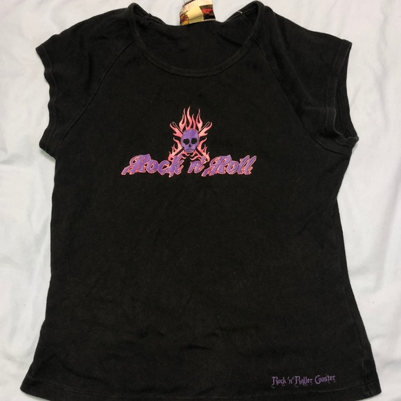 Disney Tops - Disney rock n roller coaster t-shirt
